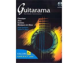 LIBRAIRIE - Guitarama Volume 2A - P. Guillem, M. Khalifa - Hit Diffusion
