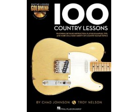 100 Country Lessons by Chad C Johnson & T. Nelson (Avec CD) - Hal Leonard