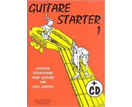 LIBRAIRIE - Guitare Starter 1 - Méthode Elémentaire pour Guitare par C. Hartog - Hal Leonard