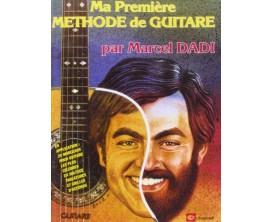Ma Première Méthode de Guitare par Marcel Dadi - Carish Ed.