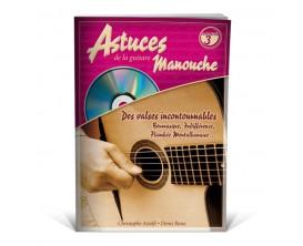 Astuces de la Guitare Manouche Volume 3 (Avec CD) - D. Roux, C. Astolfi, D. Roux - Ed. Coup de Pouce