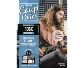 Coup De Pouce - Méthode Guitare Rock Débutant Volume 1 (Guitare Electrique) avec CD