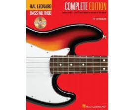 LIBRAIRIE - Méthode Basse - Complete Edition (avec CD) - Hal Leonard