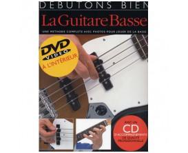 Débutons Bien La Guitare Basse (Méthode avec DVD & CD) - Ed. Musicales Françaises