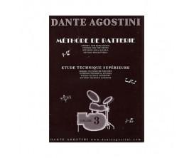 LIBRAIRIE - Méthode de Batterie, ETS Vol.3 - Dante Agostini