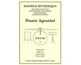 LIBRAIRIE - Dante Agostini Solfège Rythmique Vol. 1 - Ed. Dante Agostini