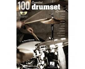 100 Essential Drumset Lessons - Hal Leonard