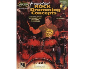 Essential Rock Drumming Concepts - Jeff Bowders - Hel Leonard
