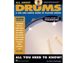 All About Drums (Avec CD) - Rick Mattingly - Hal Leonard