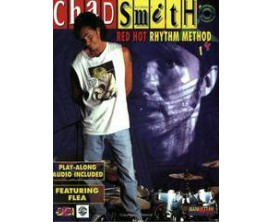 Chad Smith Red Hot Rythm Methos (Avec CD) - Alfred Publishing