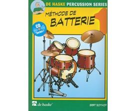 LIBRAIRIE - Méthode de Batterie 1 (Avec CD) - G. Bomhof - De Haske