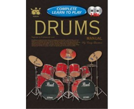 Complete Learn to Play Drums - 2 CD's - C. Lauritsen