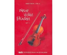 LIBRAIRIE - Neue Violin Etüden vol 3 Opus 15 - Robert Pracht - Musikverlag