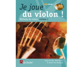 LIBRAIRIE - Je joue du Violon Vol. 1 - J. Van Elst, W. Meuris, G. Van Rompuy - Ed. De Haske