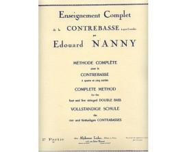 Enseignement Complet de la Contrebasse par Edouard Nanny - 1ère Partie - Ed. A. Leduc
