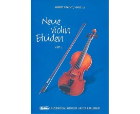 LIBRAIRIE - Neue Violin Etüden vol 1 Opus 15 - Robert Pracht - Musikverlag