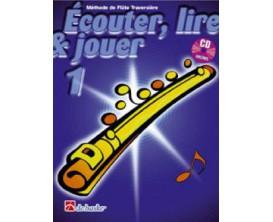 LIBRAIRIE - Méthode Flûte Traversière Ecouter Lire & Jouer Vol.1 - (Ed. Dehaske)