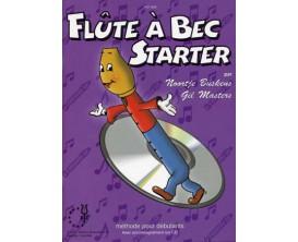 LIBRAIRIE - Flûte à Bec Starter, avec CD - N. Buskens, G.Masters (Ed. XYZ)