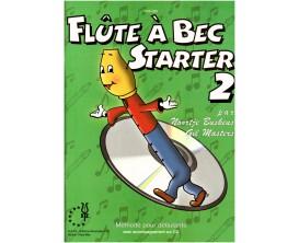 LIBRAIRIE - Flûte à Bec Starter Vol.2, avec CD - N. Buskens, G.Masters (Ed. XYZ)
