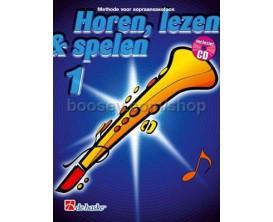LIBRAIRIE - Méthode Saxophone Soprano Ecouter Lire & Jouer Vol.1 - (Ed. Dehaske) - Non éditée en français