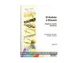 LIBRAIRIE D'Anhée à Dinant Cycle 2 (Saxophone et Piano) - S. Jacobs, P. Steve - R. Martin