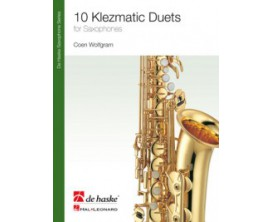 LIBRAIRIE - 10 Klezmatic Duets for Saxophone - Coen Wolfgram - Ed. de Haske