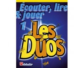 LIBRAIRIE - Lire, écouter & jouer Les Duos Vol. 1, sax alto / baryton (Ed. Dehaske)