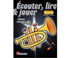 LIBRAIRIE - Méthode Trompette Ecouter Lire & Jouer Edition Complète (Avec 4 CD) - (Ed. Dehaske)