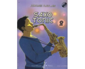 LIBRAIRIE - Jérôme Naulais - Saxo Tonic vol 2 (Avec CD) - Ed. Billaudot