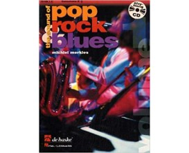 The Sound of Pop Rock Blues Alto Saxophone (Avec CD) - M. Merkies - De Haske/Hal Leonard