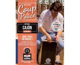 Coup de Pouce Débutant Cajon, avec CD - D.Roux et C. Ménassé
