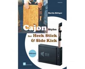 LIBRAIRIE - Cajon Styles avec Heck Stick & Side Kick, DVD - M. Röttger (Ed. Schell Music)