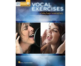 Vocal Exercices for Buidling Strenght, Endurance and Facility (Avec CD) - Hal Leonard