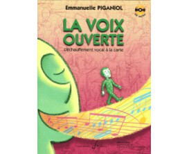 La Voix Ouverte (Avec Cd) - Emmanuelle Piganiol - Ed. Billaudot