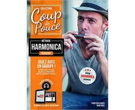Coup de Pouce Débutant Harmonica Diatonique et Chromatique (Avec CD) - D. Roux, P. Marull - Ed. Coup de Pouce