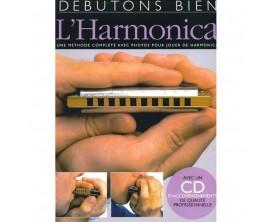 Débutons Bien l'Harmonica (Avec CD) - Ed. Musicales Françaises