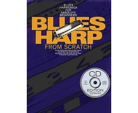 Blues Harp From Scratch (Avec CD) - Mick Kinsella - Wise Publications