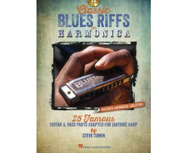 Classic Blues Riffs for Harmonica (Avec CD) - Steve Cohen - Hal Leonard