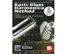 Basic Blues Harmonica Method Level 1 - David Barrett