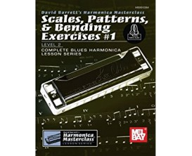 Scales, Patterns & Bending Exercices 1 Level 2 - David Barrett - Mel Bay
