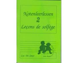 LIBRAIRIE - Leçons de solfège Vol.2, CD - Luc de Smet