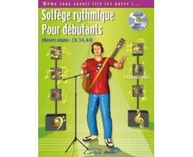 LIBRAIRIE - Solfège rythmique pour débutants, avec CD - L. HUET (Ed. Carisch)