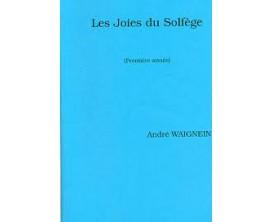 LIBRAIRIE - Les Joies du Solfège (Première année) - André Waignien
