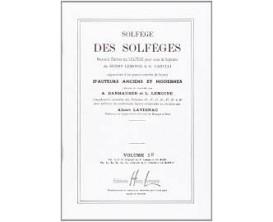 LIBRAIRIE - Solfège des Solfèges 5B - A. Danhauser & L. Lemoine - Ed. Lemoine