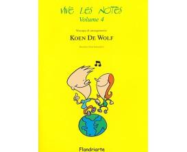 LIBRAIRIE - Vive Les Notes Vol.4 Avec CD, Koen De Wolf -
