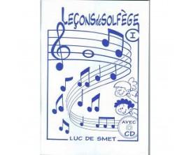 LIBRAIRIE - Leçons de solfège Vol.1, CD - Luc de Smet