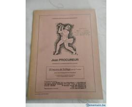 LIBRAIRIE - 20 Leçons de solfège pour la 1ère Année - Jean Procureur - A.G. Music