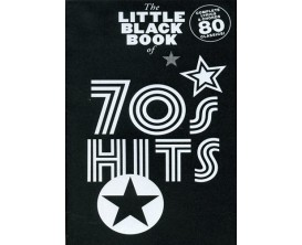 LIBRAIRIE - The Little Black Book of 70's Hits - (Ed. Music Sales)