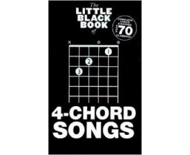 The Little Black Book of 4-Chord Songs (Complete Lyrics & Chords Over 70 Classics) - Music Sales Group