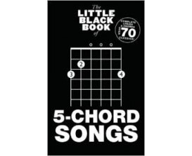 LIBRAIRIE - The Little Black Book of 5-Chord Songs - Wise Publications
